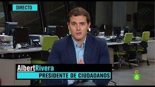"""Albert Rivera: """"Vamos a vivir más una nueva etapa política en España que una legislatura más"""""""