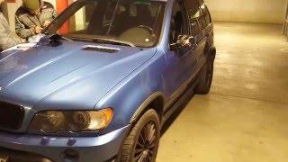 BMW X5 E53 Зеркала не складываются. Решение