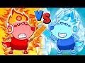 🔴 LIVE   Fire Wolfoo vs Ice Wolfoo - Hot vs Cold Challenge