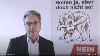 Statement Unternehmens-Verantwortungs-Initiative von Stephan Mumenthaler, Direktor scienceindustries