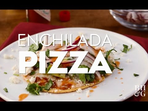 Enchilada Pizzas | Cooking: How-To | Better Homes & Gardens
