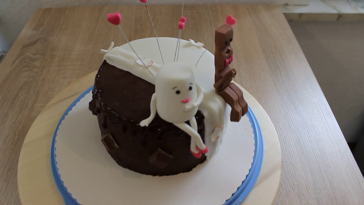Kinderschokoladen Figuren Torte Fondant Youtube