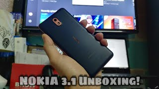 Nokia 3.1 Unboxing and Preview - English