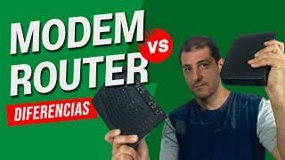 Modem vs Router ¿Es lo mismo? Estas son las diferencias
