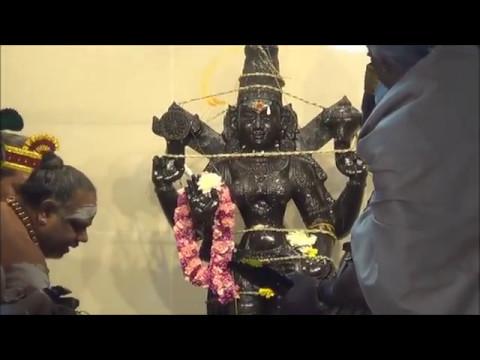 Inducing Sakthi to Durgai at Sydney Sri Durga Temple