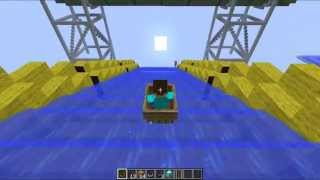 Endless Water Slide - Water Park - Minecraft