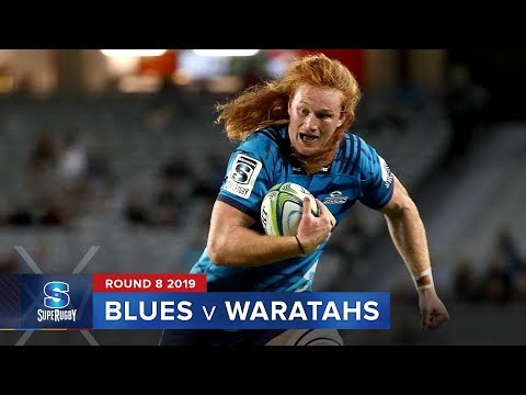 Blues v Waratahs | Super Rugby 2019 Rd 8 Highlights