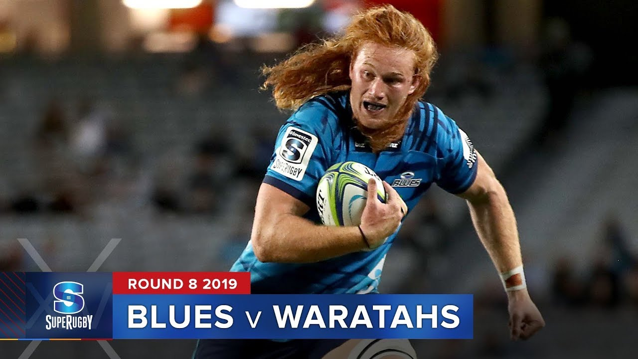 Blues v Waratahs | Super Rugby 2019 Rd 8 Highlights