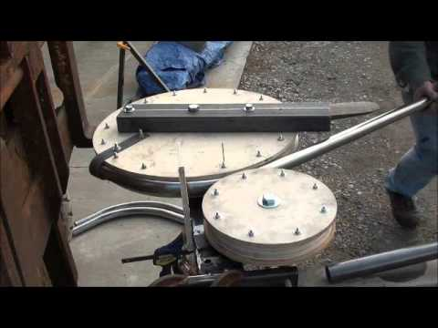 DIY Tubing Bender - YouTube