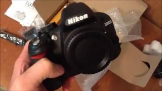 nikon D3100 - Kit 18-55 VR (распаковка)