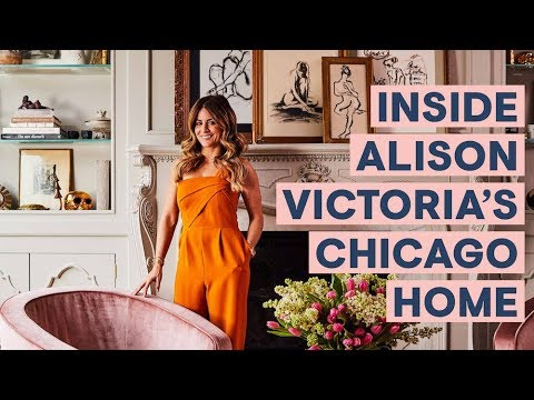 Inside Alison Victoria's Chicago Home I Home Tours I House Beautiful