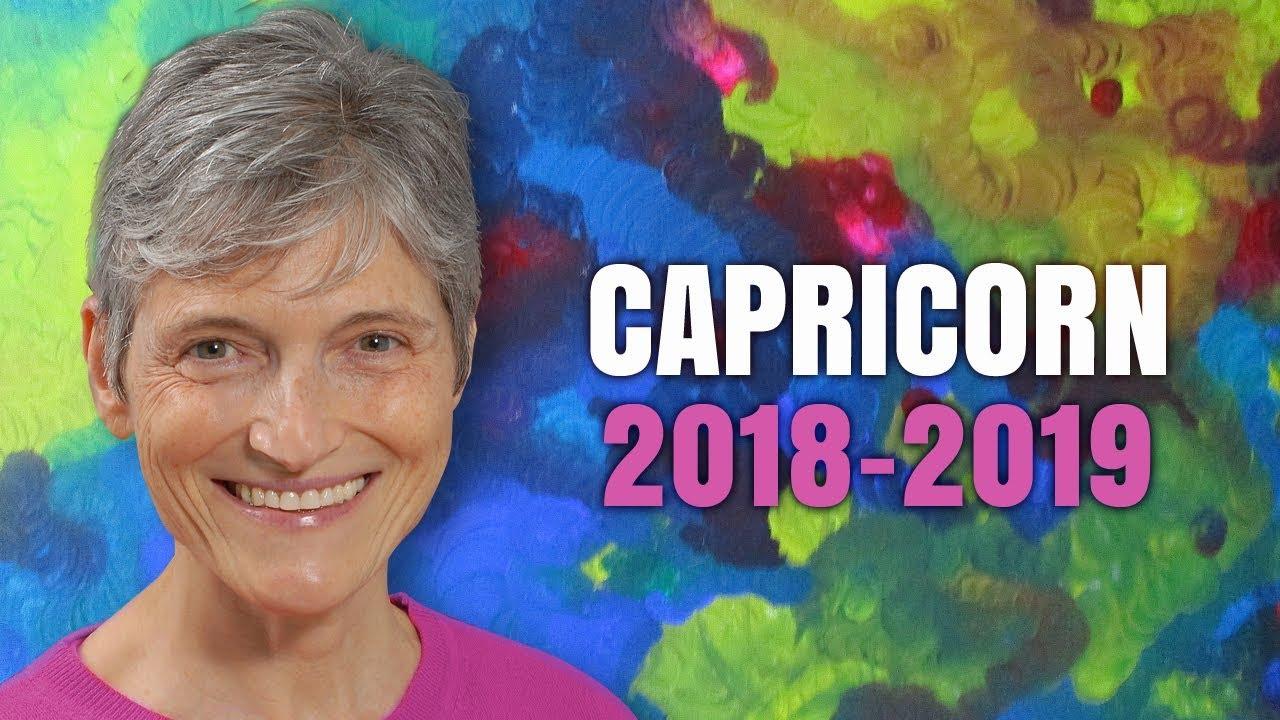 CAPRICORN 2018 - 2019 ASTROLOGY Annual Forecast - New ...