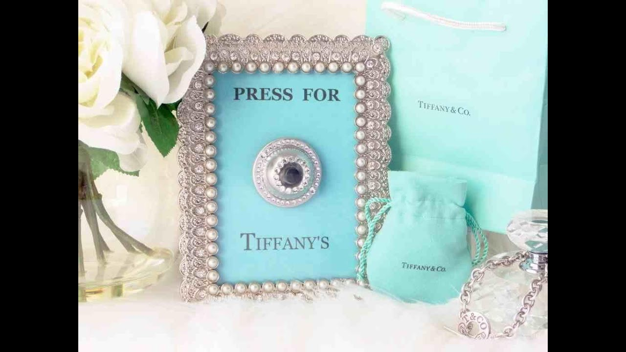 Press For Tiffany\'s [ DIY Wall Art ] - YouTube