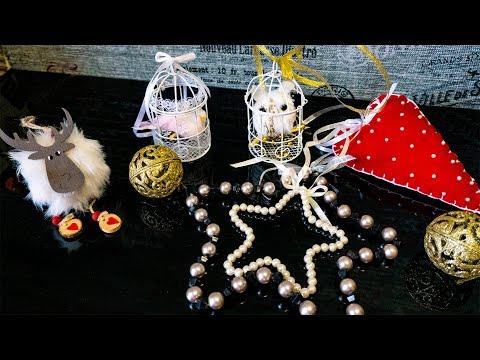 Игрушки на елку своими руками из подручных материалов на елку