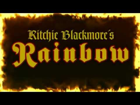 Ritchie Blackmore's Rainbow on tour in 2016 - Check out the merchandise advert.