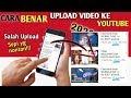 Cara benar upload video ke YouTube lewat android 2020