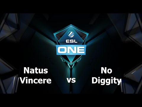 Na'Vi vs No Diggity Game 1 - ESL One Frankfurt EU - @TobiWanDOTA @MotPax