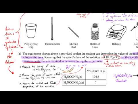 2019 AP Chemistry Free Response Solutions - Mr Grodski