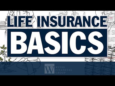 Insurance Planning - Life Insurance Basics Explained - Scott Weiss CFP