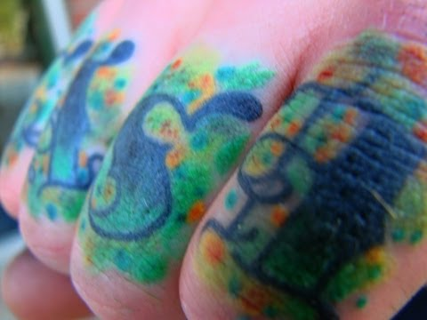 Bare Knuckles Tattoo - Paul Kirk - Cash