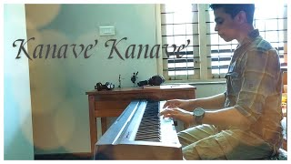 Kanave Kanave   David   Piano Cover   Instrumental   Anirudh Ravichander   Sreyas MJ  