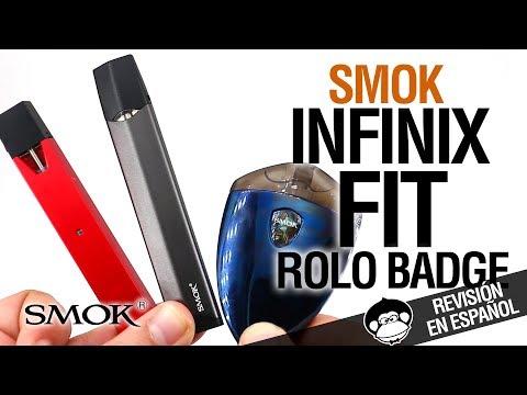 Smok Infinix - FIT - Rolo Badge / LOS PODS DE SMOK / revisión