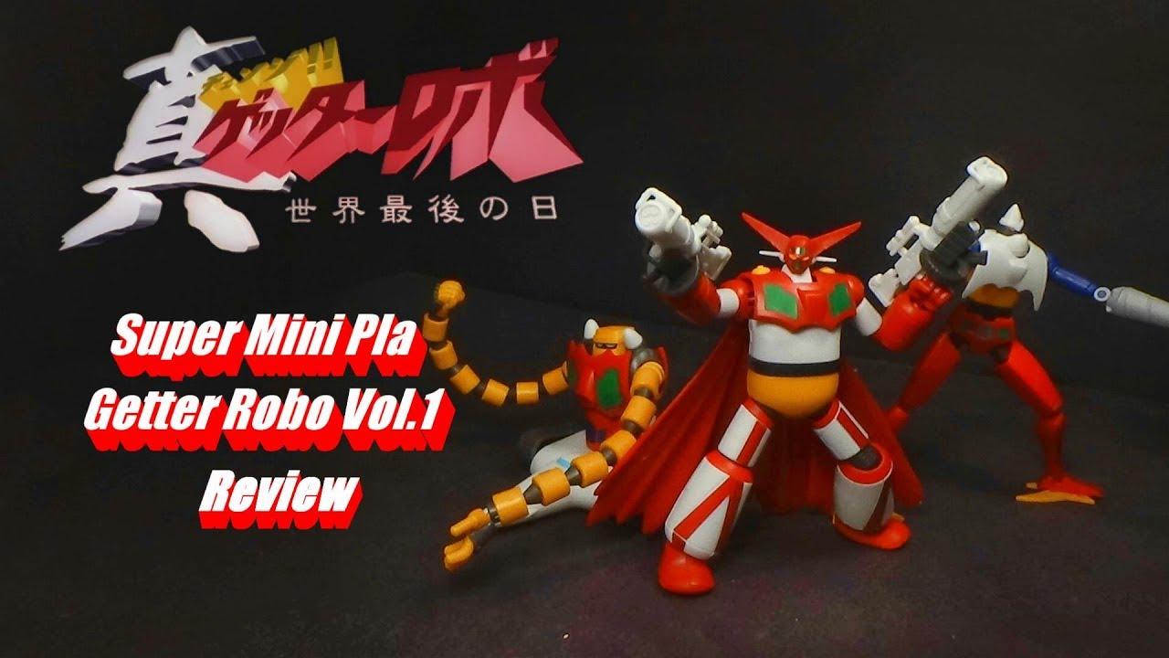 NEW Bandai Bandai Super Mini-Pla Shin Getter Robo Vol.4 Candy Toy F//S Change!!