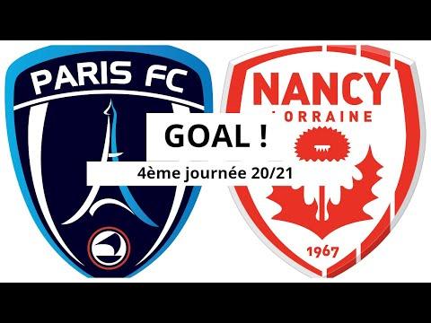 Paris FC Nancy Goals And Highlights