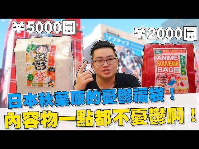 【Joeman】日本秋葉原的憂鬱福袋!內容物一點都不憂鬱嘛!