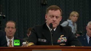 Члены конгресса США около 15 раз упомянули RT в ходе слушаний о связях Трампа с Россией