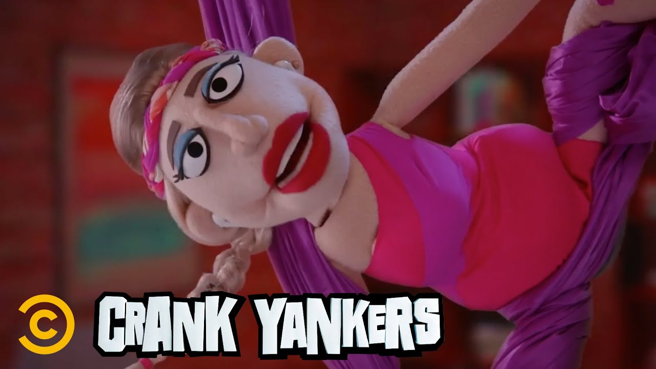 Annie Murphy Gets Caught in an Aerial Mess -  Crank Yankers