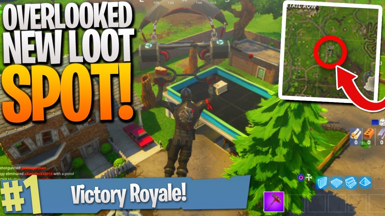 DON'T Miss This New Loot Spot! - Fortnite NEW MAP UPDATE! PS4 Fortnite Gameplay!