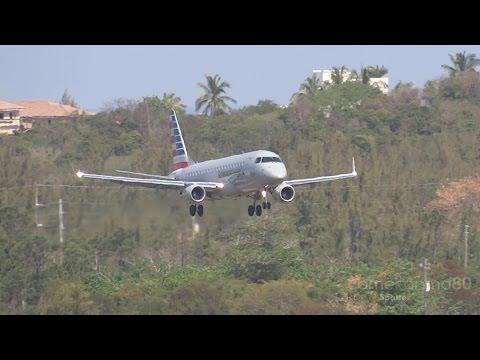 American Eagle | S Turns Landing | Embraer 175 | N407YX | Nassau,Bahamas