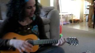 Song #4 - teaching mommy  שיר מספר 4 - מלמדת את אמא
