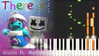 Video [MIDI] Slushii ft Marshmello - There x2 download MP3, 3GP, MP4, WEBM, AVI, FLV September 2018