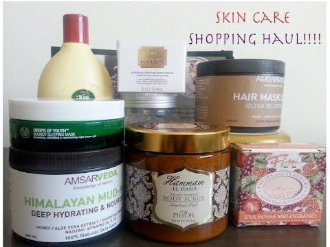 Goa+Dubai skin care haul(The body shop,Amsarveda,mario fissi and many more)