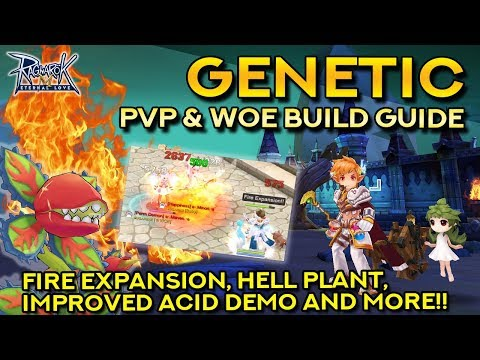 GENETIC ULTIMATE PVP & WOE BUILD: Fire Expansion, Hell Plant, IAD & More!