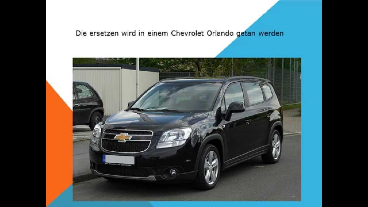 Chevrolet Orlando Innenraumfilter Pollenfilter wechseln ...