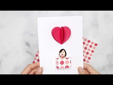DIY Love Is In The Air Balloon Card