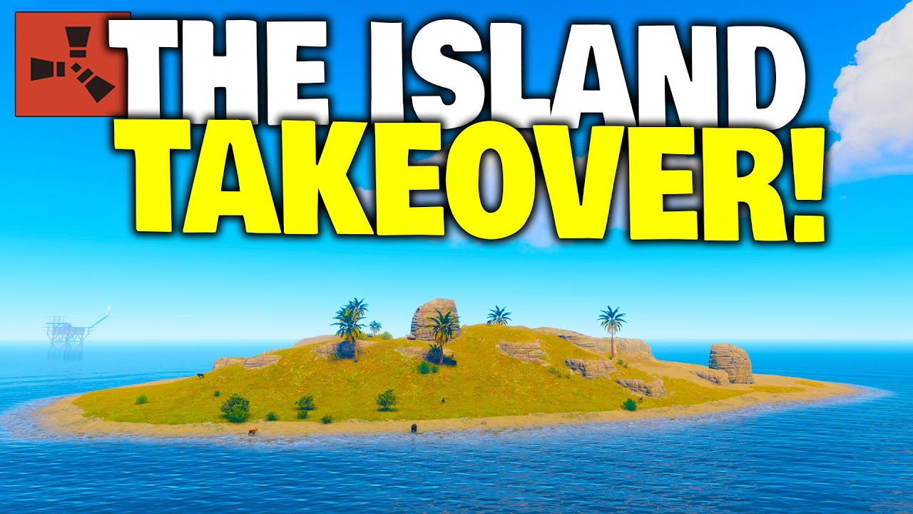 I Took Control of an Island for an Entire Week - Rust