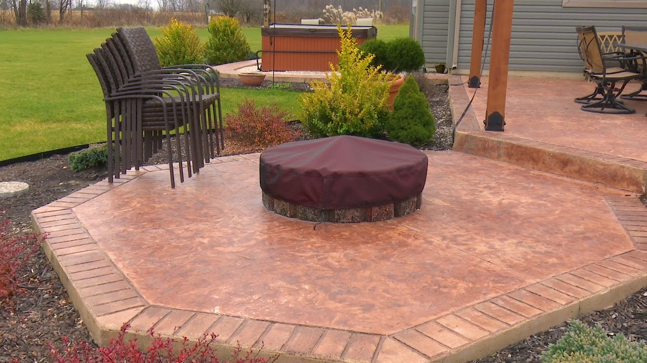 how to make a fire pit cover youtube
