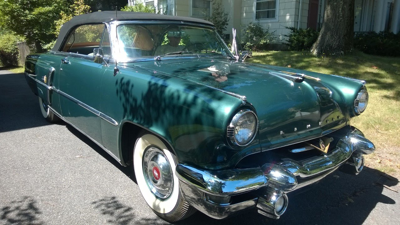 1953 lincoln continental value