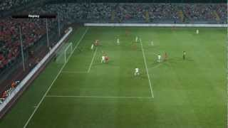 PES 2013 + QPES Patch V3 + ISS2013 Gameplay (PC)