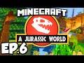 Jurassic World: Minecraft Modded Survival Ep.6 - SECRET LAB!!! (Rexxit Modpack)