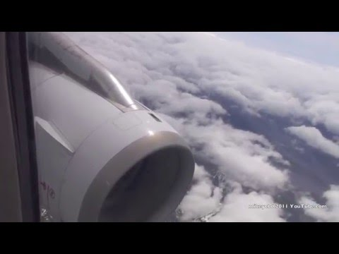 Trip to NZ the movie Take off cruise landing Air New Zealand Airbus A320