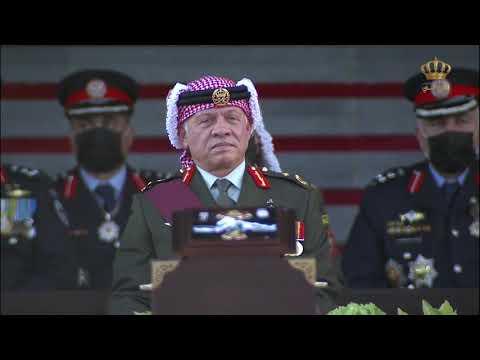 احتفال القوات المسلحة الأردنية  والأجهزة الأمنية بمناسبة الذكرى الأولى لمئوية تأسيس الدولة الأردنية.