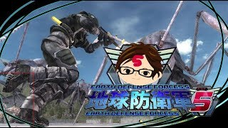 【地球防衛軍5】ハードを救え!地球防衛軍5を複数実況M1,M2