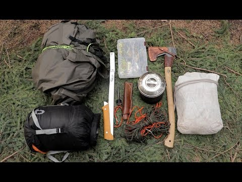 Full List Of Filming, Camping, Survival Gear For 10 Days, 10 Items, Alone On An Island In The Wild