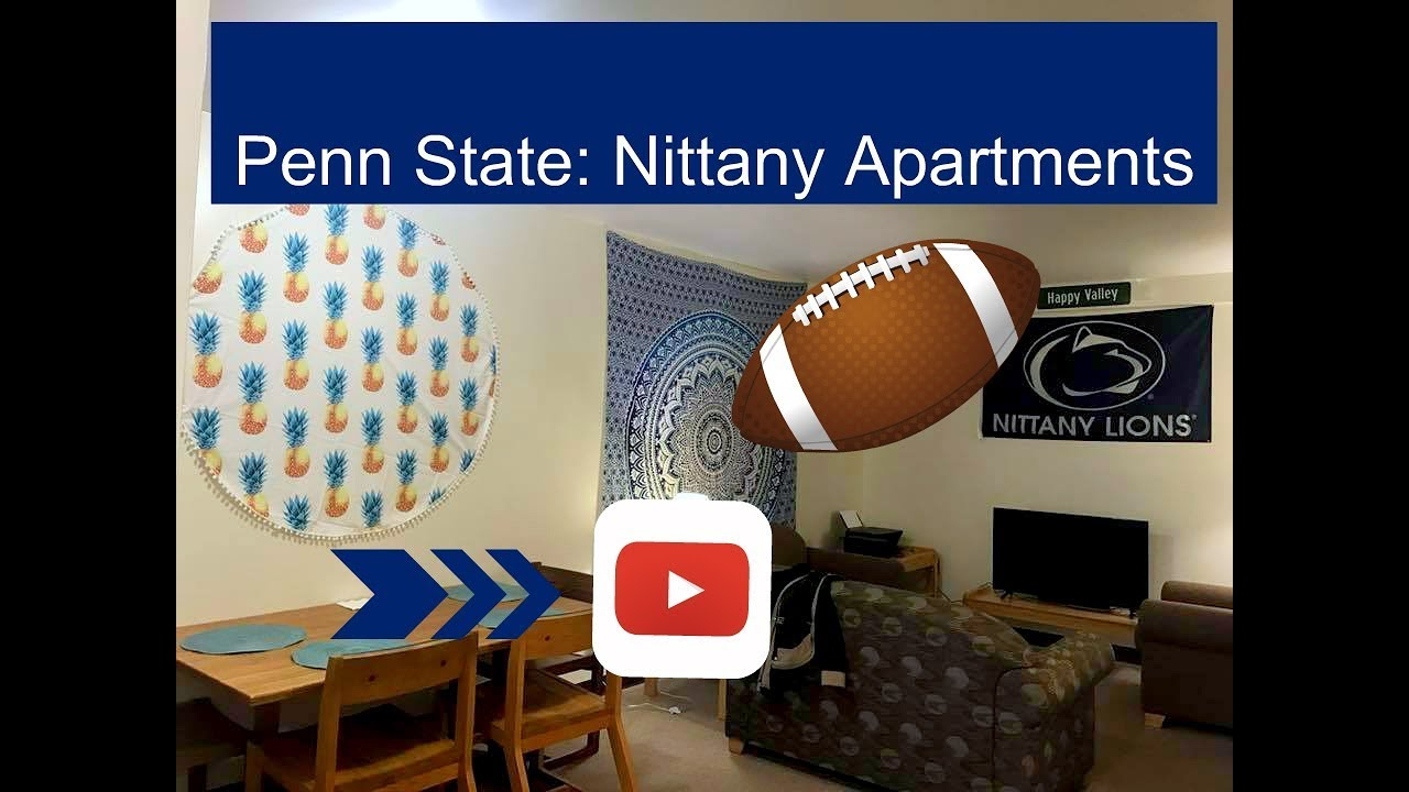 Penn State Nittany Apartments 4 Bedroom Townhouse Tour