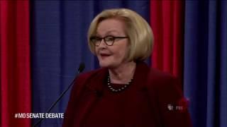 MO Senate Race talk Khashoggi, guns and tariffs